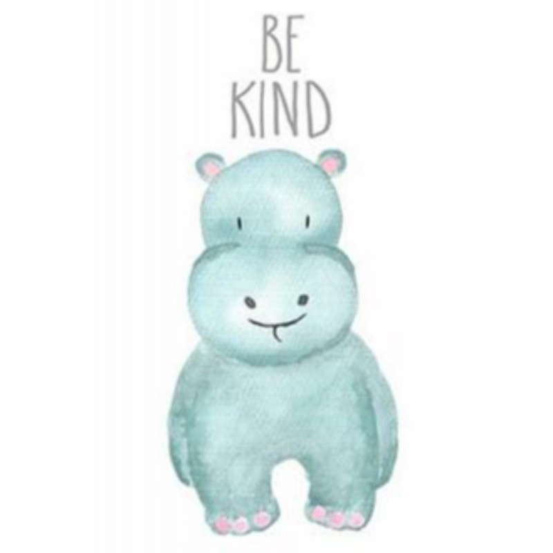 Be Kind Hippo