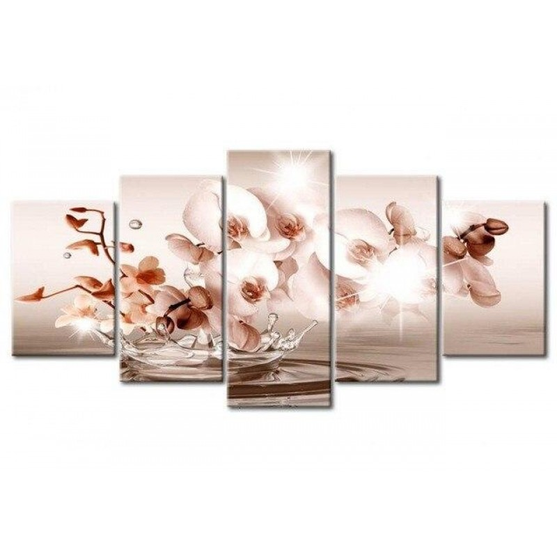Brow orchids 5 Piece...