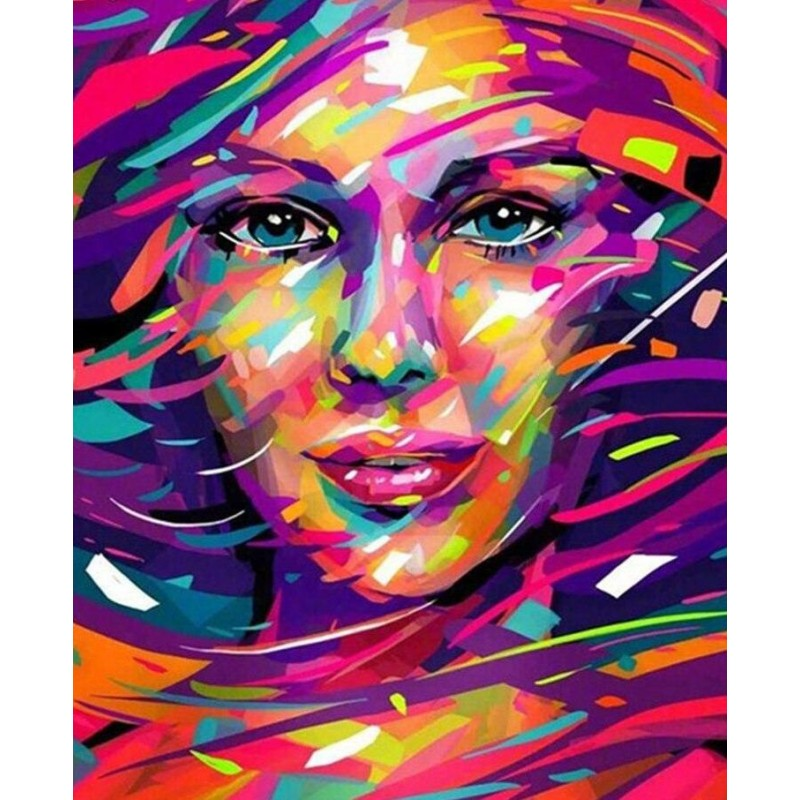 Abstract Woman Portr...