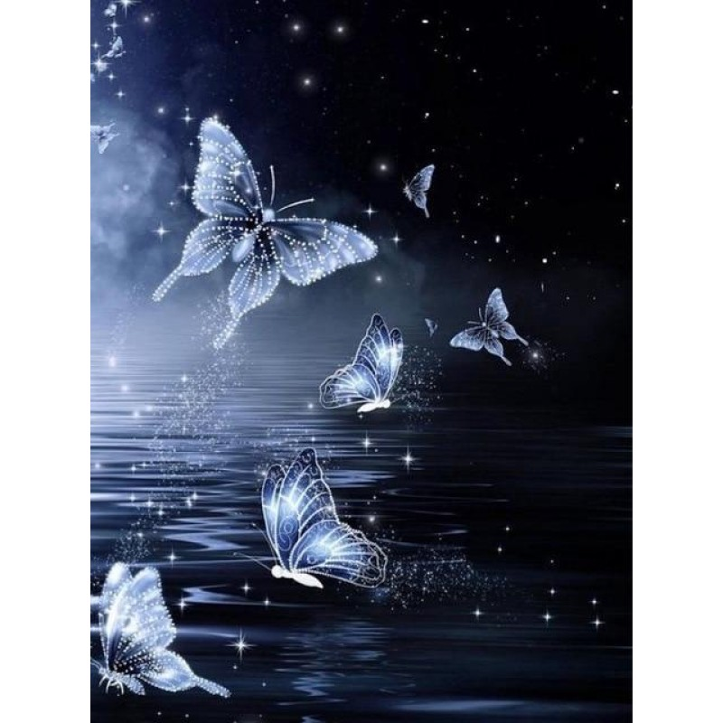 Butterflies at night